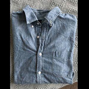 JCrew Men's Chambray Shirt